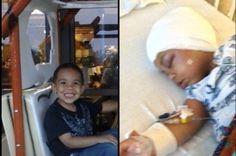 TJ Johnson was diagnosed with a #Craniopharyngioma on May 27, 2013, at the age of 2. He had undergone 3 surgeries so far at Wolfson Children's Hospital in Jacksonville, Florida. Via  http://www.gofundme.com/TJ-Johnson