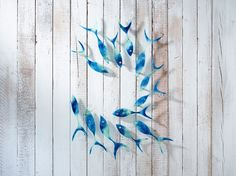 Bring the natural beauty of the ocean home with our exclusive Shoaling Fish collection. For those who really want to make a statement, our 13 piece Reef collect