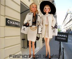"Fashion Doll Stylist: Let's Talk ""Chanel"""