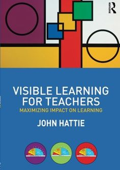 Visible Learning for Teachers: Maximizing Impact on Learning by John Hattie http://www.amazon.com/dp/0415690153/ref=cm_sw_r_pi_dp_Lx4fub1KAZXAS
