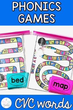 Students love playing games, so why not use this love to help them learn. Check out this game that I created to help kinders, 1st, and 2nd grade students review CVC words. Students love it, and it take very little prep work. Read on for some great details on a game that your students are sure to love.