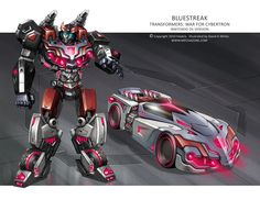 War for Cybertron - Bluestreak