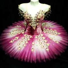 Exclusive Collection 2016 This amazing stage costume has been created for roles such as Gulnare in Le Corsaire Act II. It can also be used for many other roles like Sugar Plum Fairy, Dew Drop or other