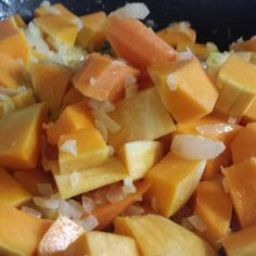 """Butternut Squash with Onions and Pecan   """"A new twist on a squash dish! Can be made 4 hours ahead."""""""