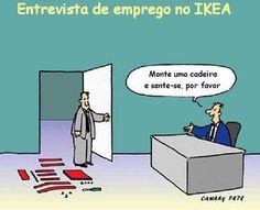 Entrevista de emprego no IKEA!