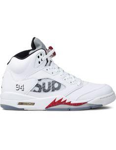 Jordan Brand Air Jordan 5 x Supreme White