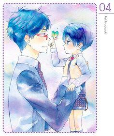 Free! Iwatobi Swim Club -Rei and Haru