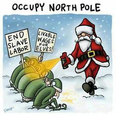 Occupy North Pole | Anonymous ART of Revolution