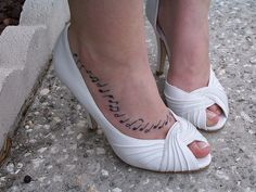 Moon River notes Tattoo