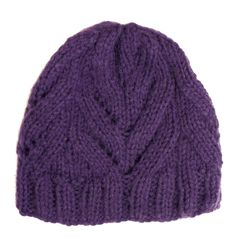 Caron International Yarns and Latch Hook Kits | Dazzleaire Free Project | Giftie Slouchie Beanie