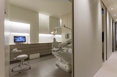 Photographs about interior design with Medical Office Design, Dental Office Design, Healthcare Design, Dentist Clinic, Dental Hospital, Office Wall Colors, Hospital Design, Clinic Design, Treatment Rooms