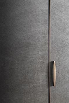 [New] The 10 Best Home Decor (with Pictures) - This sleek and stylish grey wardrobe with metal handle and detailing is a masterpiece. It is combined with sophisticated design and luxurious detailing. Wardrobe Door Designs, Wardrobe Doors, Wardrobe Closet, Cabinet Handles, Door Handles, Door Pulls, Cool Furniture, Furniture Design, Furniture Ideas