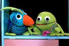 Kaj og Andrea. Danmarks radio. Kaj er sur, Danish tv for kids, funny, memorable