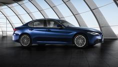 New Giulia maintained a fairly dynamic design.