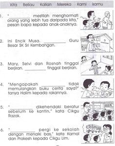 40 Best Bm Tahun 2 Images Tatabahasa Bahasa Melayu Latihan