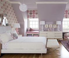 Soft Girl's Bedroom  | Photo Gallery: Tobi Fairley Interiors | House & Home | Photo by Nancy Nolan