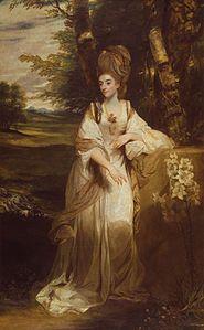 Joshua Reynolds - Retrato de Lady Bamfylde, 1776-1777
