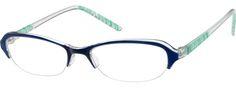 ad17277a20669 2220 Plastic Half-Rim Frame Armações De Óculos Para Mulheres