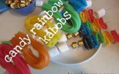 st. patty's day sweet rainbow kabobs