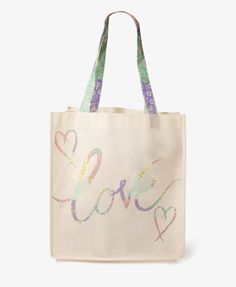 #Forever21                #love                     #Floral #Love #Shopper's #Tote #FOREVER #1035548011                           Floral Love Shopper's Tote | FOREVER 21 - 1035548011                                                    http://www.seapai.com/product.aspx?PID=113444