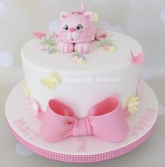 Image result for fondant cat birthday cake #CatBirthday