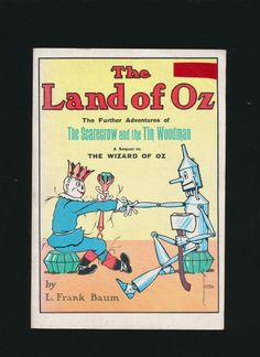 vintage softcover The Land of Oz by L. Frank Baum by mudintheUSA