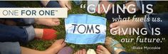 TOMS shoes is also an awesome charity..Buy a pair of the shoes they send a pair to a child in a third world country