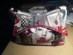 #Sac Ava par Valérie B. Patron Sacôtin. Ava #Bag by Valérie B. Sacôtin pattern.