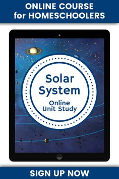 Has Your Child Ever Wanted to Learn About the Solar System? Well Now You Can. This Online Unit Study Will Help Your Child Reach For The Stars.  #homeschooling #unitstudy #unitstudies #space #solarsystem #TechieHSMom Science Curriculum, Science Lessons, Homeschool Curriculum, Teaching Science, Science Activities, Homeschooling, Units Online, Teachers College, Solar System