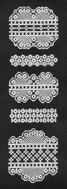 Embroidery Kit: Hapsburg Lace Eyelets and by TanjasHandEmbroidery