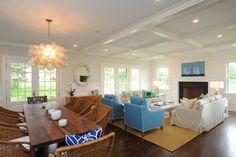 Sconset - beach-style - Living Room - Boston - Nina Liddle Design