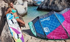Awesome Kitesurfing Gear for Girls! Make sure to check out http://www.talic.com for the best kiteboarding storage rack
