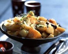 Tajine de potiron et patates douces (facile, rapide) - Une recette CuisineAZ