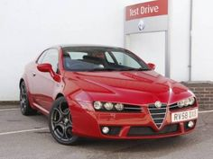 Used 2008 (58 reg) Red Alfa Romeo Brera 2.2 JTS S 3dr for sale on RAC Cars