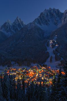 #Innichen / San Candido in the Evening #SouthTyrol - Italy | Hans-Joachim Kaiser