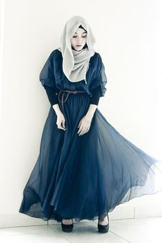 chiffon hijab styles ideas for trendy women