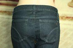 Joe's Jeans Starlet slim bootcut low rise Heidi Wash jeans tag size 26