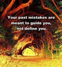 """Quotes: """"Your past mistakes are meant to guide you, not define you."""" #genealogy #quotes"""