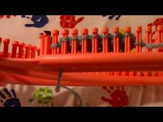 True Knit Stitch Reverse Purl on The Gallery London S Loom - YouTube Loom Knitting Stitches, Triangle, London, Gallery, Youtube, Patterns, Roof Rack, Youtubers, London England