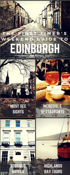 nice The First Timer's Weekend Guide to Edinburgh, Scotland | Planning on a quick sto...
