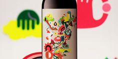 Eight's Vineyard bottle packaging. Design by Joan Josep Bertran, Barcelona, Spain.