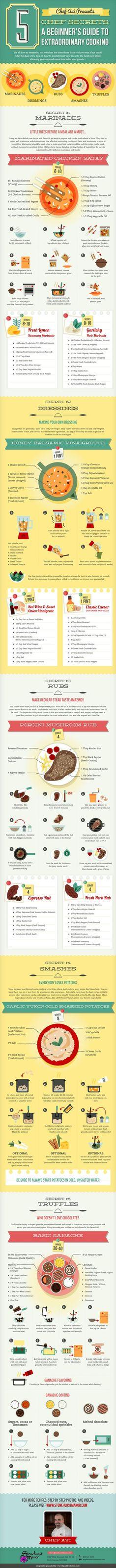 Diy Secrets For Extraordinary Cooking