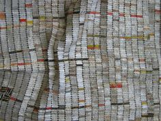 Detail von: El Anatsui, Ozone Layer and Yam Mound(s) Quelle: Kerstin Schankweiler