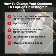 Instagram Tip: How To Change Your Comments On Instagram #instagram #instagramtip
