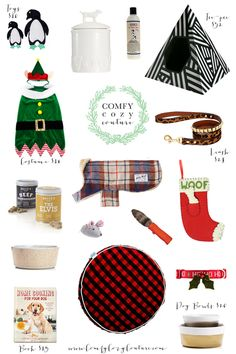 Comfy Cozy Couture Gift Guide: For Your Pet | Holiday Gift Guides | Gifts for your Pets