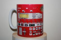 Custom Created Korg Electribe ESX-1 Synth Synthesizer Keyboard producer Mug / Mugs perfect for a Gift DJ Kitchen Work Office Studio Cup