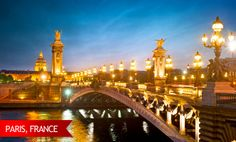The 'City of Lights' truly shines during the holiday season. Stroll along the Seine with money to spare when you book with us! #USAATravel #USAAShopping