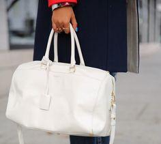 Stylish Designer Handbags Worth Investing In: Saint Laurent Classic Duffle  #designerbags #handbags