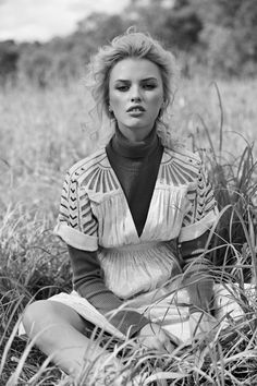 Elodie Russell by Jeremy Choh. Look - Kerry Rocks Earrings, Sonya Hopkins Knit Top and Intropia Dress available at Christensen Copenhagen Editorial Photography, White Photography, Fashion Photography, Champs, Spring Shower, Natural Instinct, Casual Chic Style, Fashion Pictures, Trends