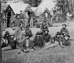 Union soldiers near Chattanooga